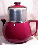 Click here to enlarge image and see more about item 3372: HALL COFFEE POT - BIG BOY - AKA BARON