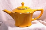 Click here to enlarge image and see more about item 3374: HALL TEAPOT - CLEVELAND - GOLD