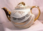 Click to view larger image of HALL TEAPOT - PARADE  6C  IVORY (Image1)