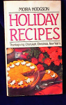 Click here to enlarge image and see more about item 536: HOLIDAY RECIPES~CHANUKA ET AL~HODGSON~PB~1981