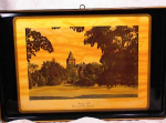 Click here to enlarge image and see more about item 577: UNIVERSITY OF NH DINING ROOM TRAY