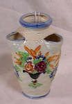 Click here to enlarge image and see more about item 61: FAUX MAJOLICA STRAWBERRY POT VASE