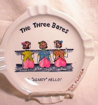Click here to enlarge image and see more about item 750: HAND-PAINTED ~3 BARES  SOUVENIR ~FLORIDA~
