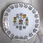 Click here to enlarge image and see more about item adv281: CANADA SOUVENIR PLATE