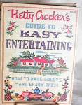 Click here to enlarge image and see more about item cb553: BETTY CROCKER GUIDE TO EASY ENTERTAINING