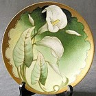 Thomas Sevres & Bavaria Calla Lilly Hand Painted