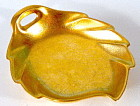 Vintage Pickard Leaf Shape Candy Dish