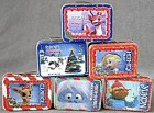 Rudolph Mini Lunch Boxes Set of 6