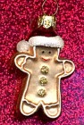 Vintage Blown Glass Gingerbread Boy