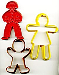 Vintage People Cookie Cutters (Image1)