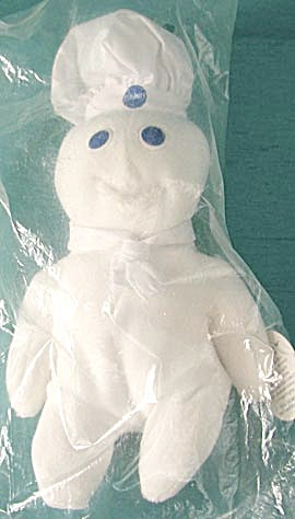 Pillsbury Doughboy Poppin Fresh Plush Doll (Image1)