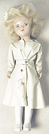 Vintage Miss Curity Nurse Doll