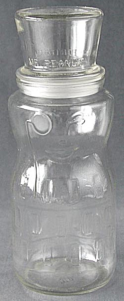 Mr Peanut 75th Birthday Glass Jar with Lid (Image1)