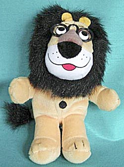 Vintage Harris Bank Little Hubert Plush Lion (Image1)