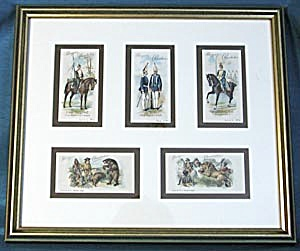 Vintage Chocolate Advertising Cards of Bears & Hunters (Image1)