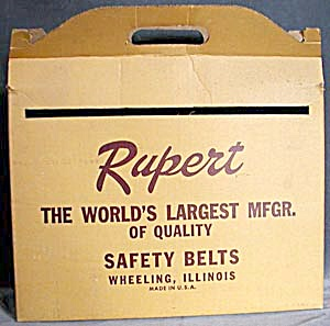 Vintage Rupert Safty Belt Box (Image1)