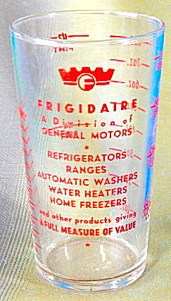 Vintage Frigidaire Glass Measuring Cup