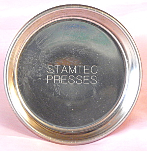 Stamtec Presses Metal Coaster