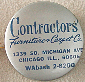 Contractors' Furniture & Carpet Celluloid Tape Measure