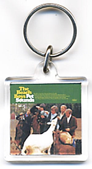 94.7 Beach Boy Pet Sounds Key Chain