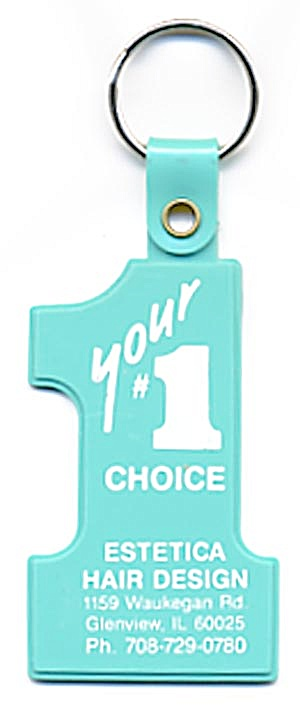Key Chain: Plastic Your Number 1 Choice Hair Design