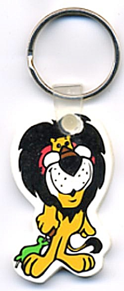 Hubert The Harris Lion Key Chain