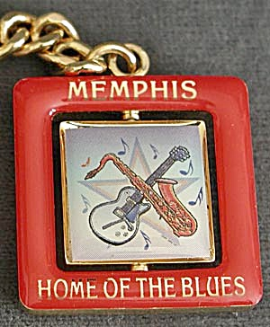 Memphis Home Of The Blues Key Chain