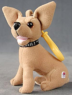 Taco Bell Dog Keychain (Image1)
