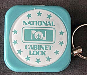 National Cabinet Lock Key Chain