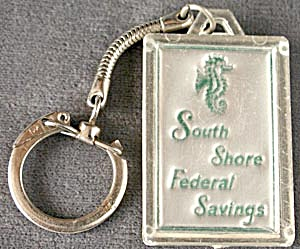 Vintage South Shore Federal Savings Key Chain