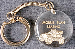 Morris Plan Leasing Key Chain
