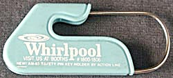 Vintage Whirlpool Home Appliances Keychain