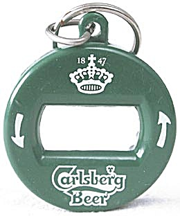 Key Chain: Carlsberg Beer Bottle Opener Key Chain