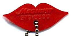 Vintage Magikist Lips Key Chain