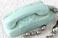 Vintage Starlite Phone Keychain Aqua (Image1)