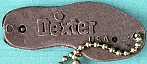 Vintage Dexter Shoes U.s.a. Key Chain