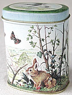 2 Tins:1 With Butterflies & Birds 1 With Farm England