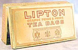 Vintage Lipton Tea Tin