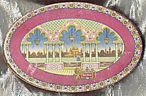 Vintage TINDECO Tin in Indian Design (Image1)