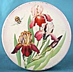 Vintage Iris And Bumble Bee Large Tin