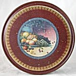 Vintage Fruit Tin