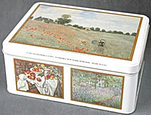 Monet Tin Poppy Fields (Image1)