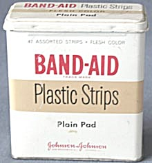Vintage Band-aid Plastic Strips