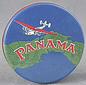 Vintage Panama Typewriter Ribbon Tin (Image1)
