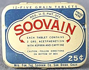 Vintage Metal Soovain Tin (Image1)