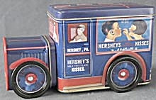Hershey's Milk Chocolate Kisses Tin Truck Tin (Image1)