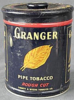 Vintage Granger Tobacco Tin (Image1)