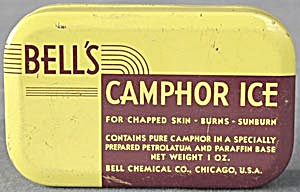 Vintage Bell's Camphor Ice Tin