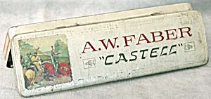 "A.w. Faber ""castell"" Pencil Tins"