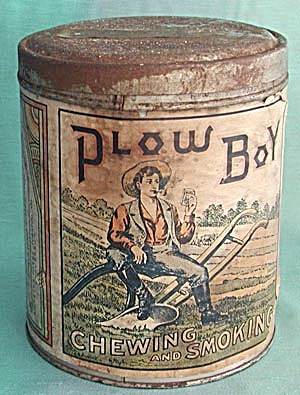 Vintage Plow Boy Tobacco Tin